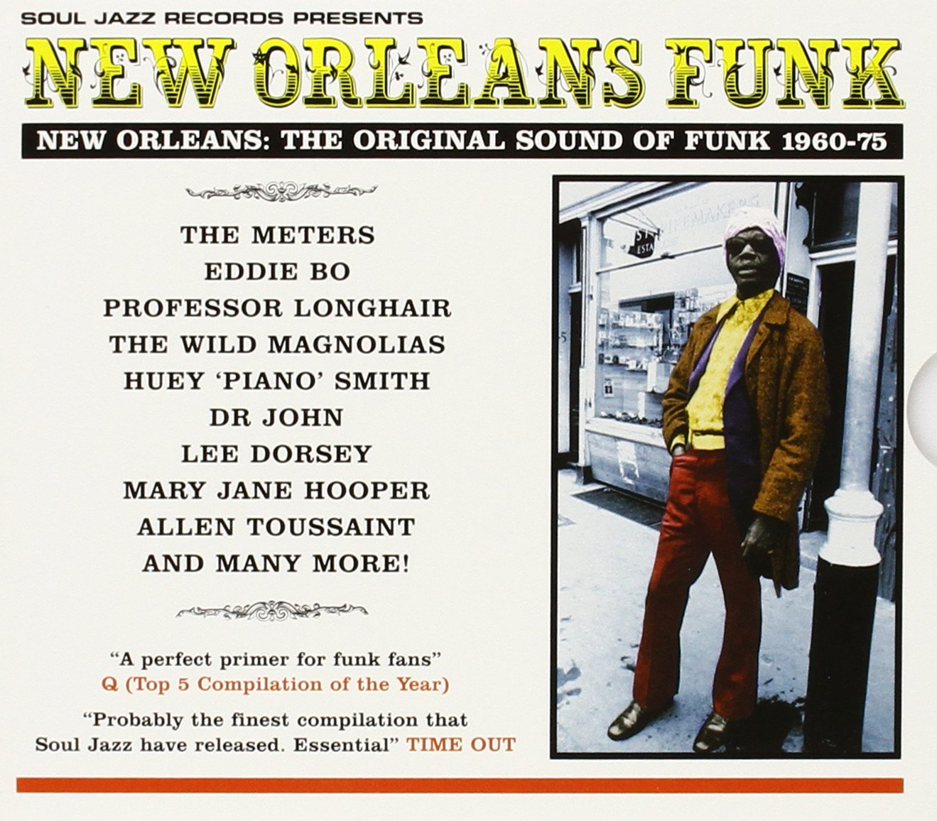 VA – New Orleans Funk: New Orleans The Original Sound 1960-1975 (2000) [FLAC]