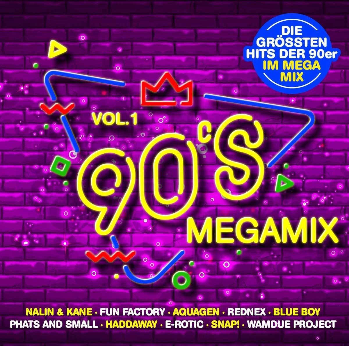 VA – 90s Megamix Vol.1 (2020) [FLAC]