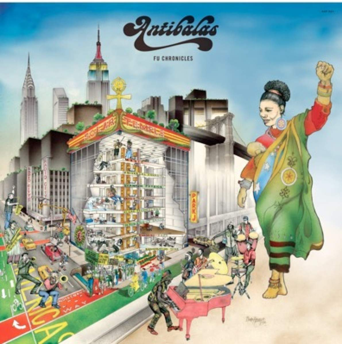 Antibalas - Fu Chronicles (2020) [FLAC] Download