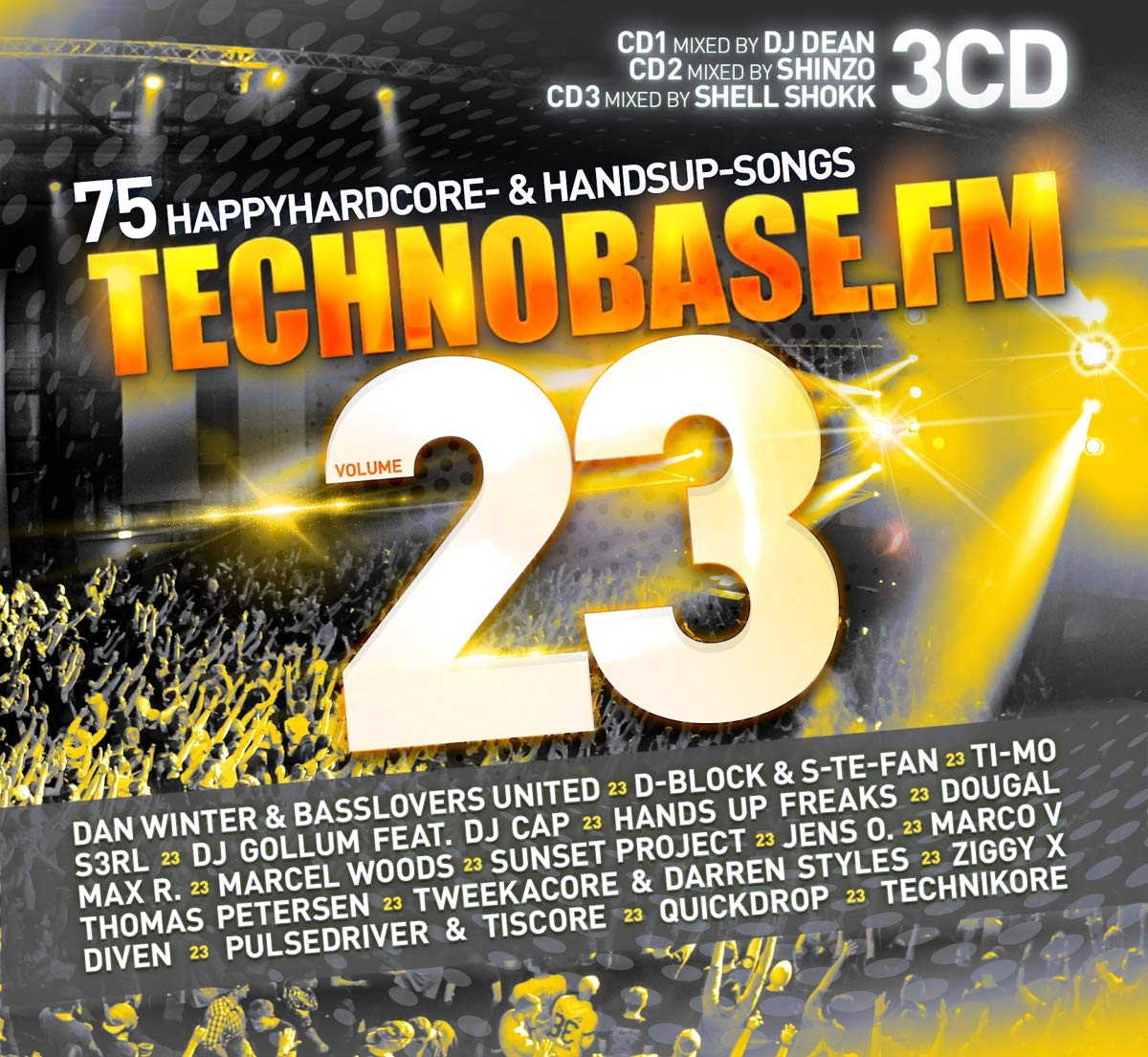 VA - Technobase.FM Volume 23 (2019) [FLAC] Download