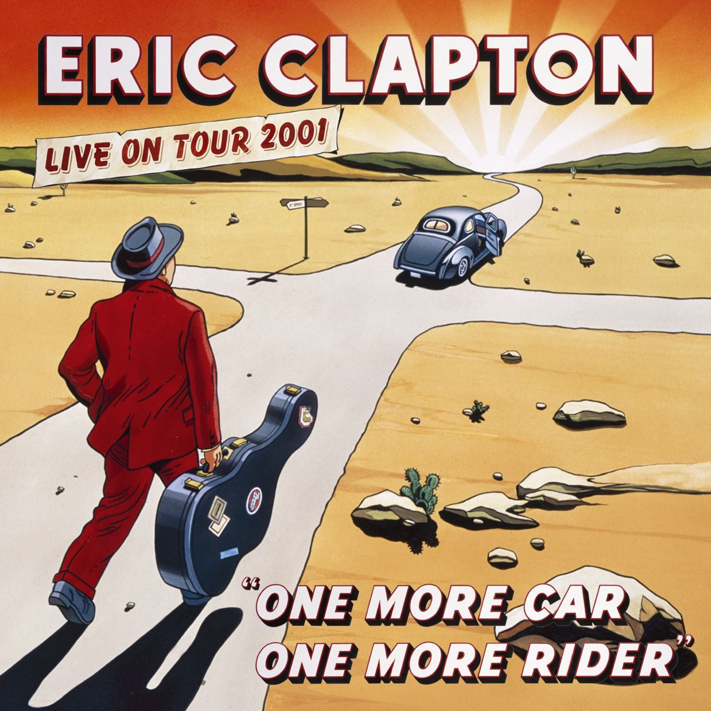 Eric Clapton – One More Car, One More Rider (2002) [FLAC]