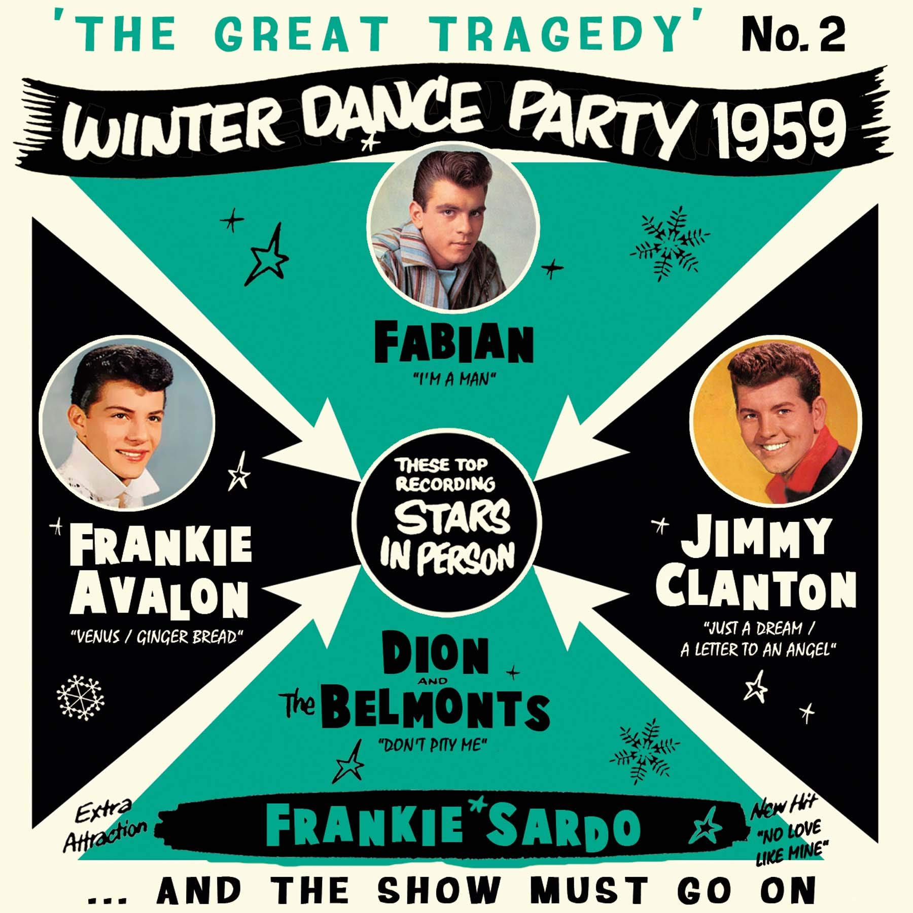 VA – The Great Tragedy  Winter Dance Party 1959 #2 (2020) [FLAC]