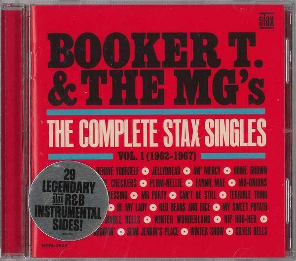 Booker T. & The MG's – The Complete Stax Singles Vol.1 (1962-1967) (2019) [FLAC]