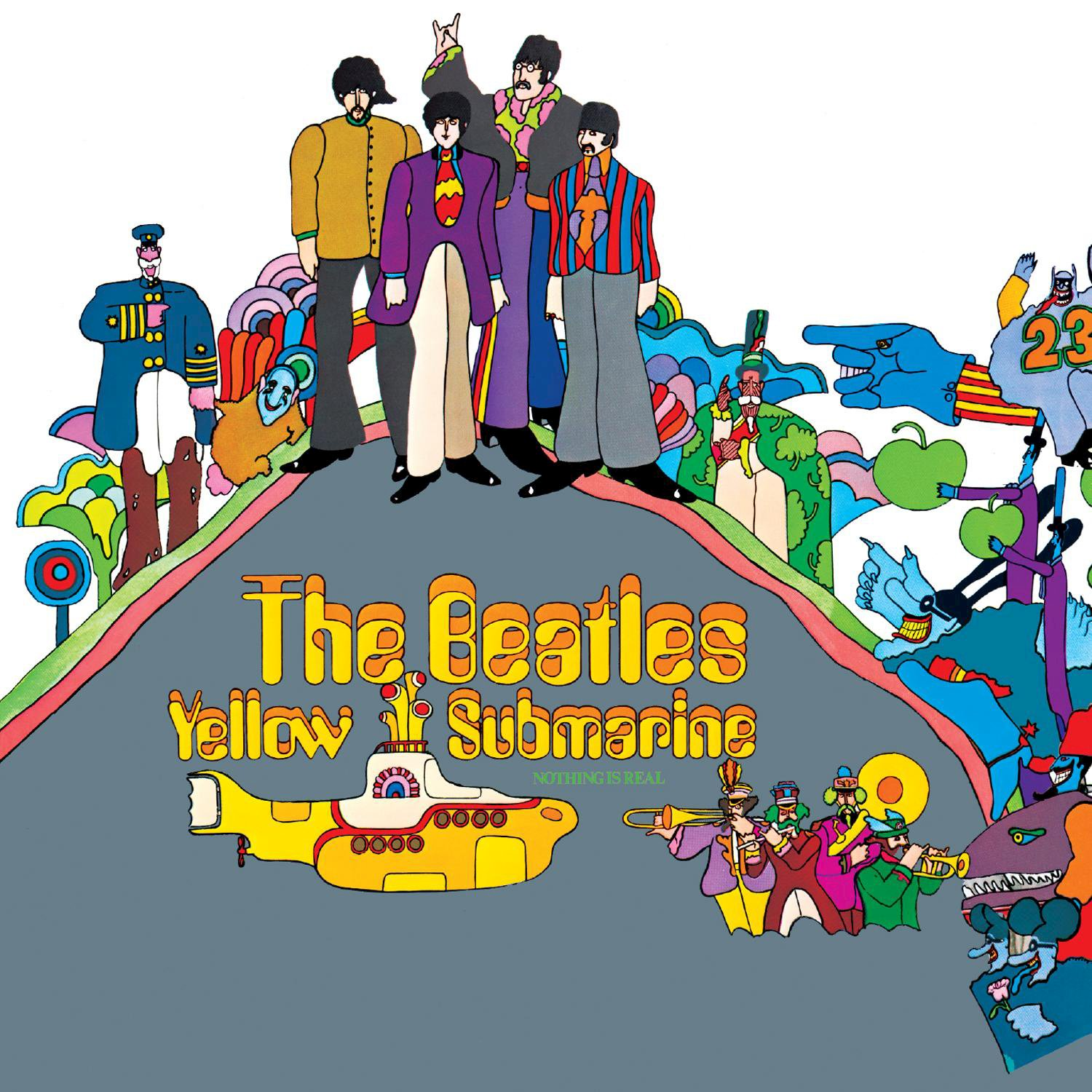 The Beatles – Yellow Submarine (REISSUE REMASTERED LP) (2017) [FLAC]