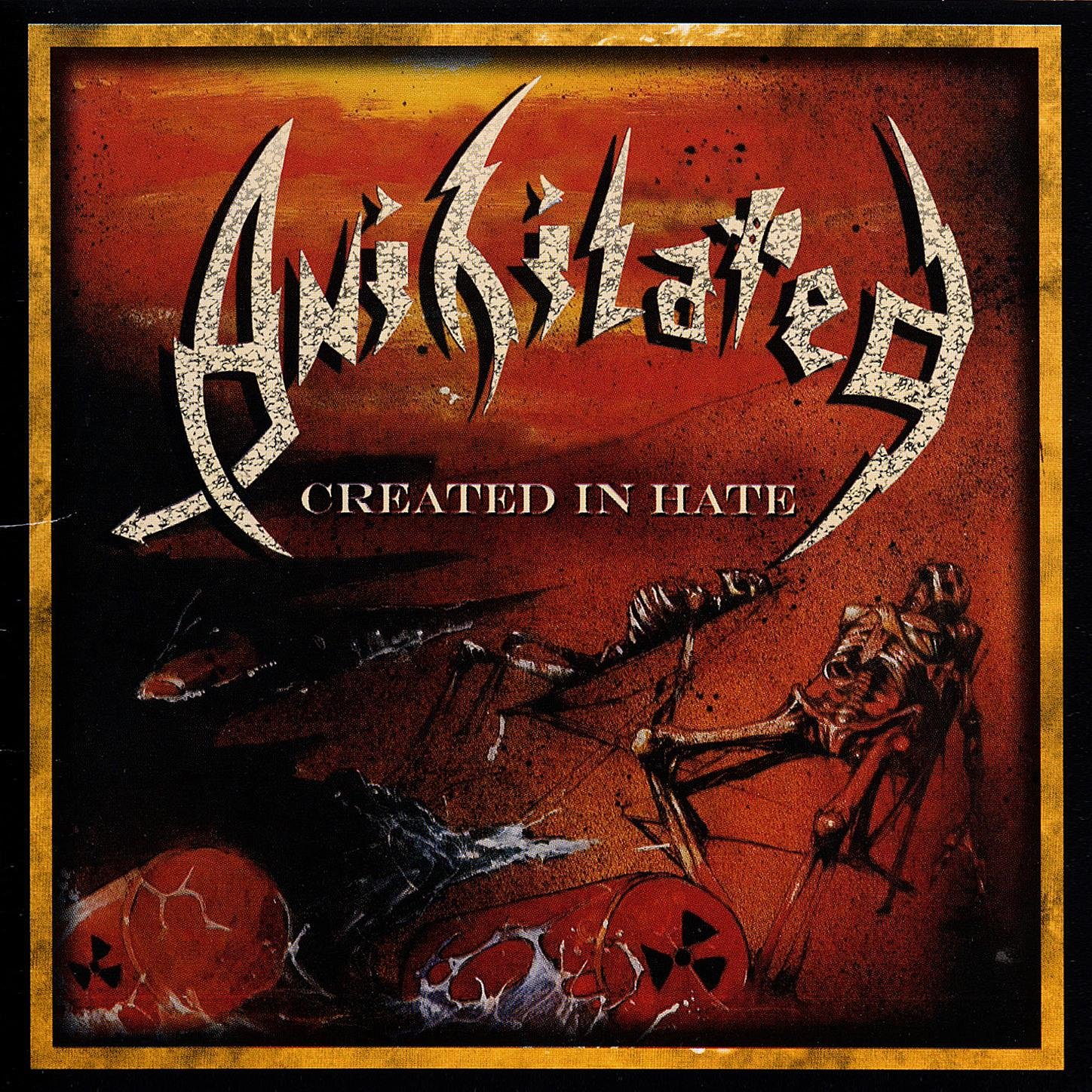 Anihilated – Created In Hate (1988) [FLAC]