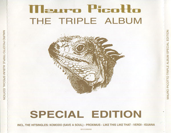 Mauro Picotto – The Triple Album (2001) [FLAC]