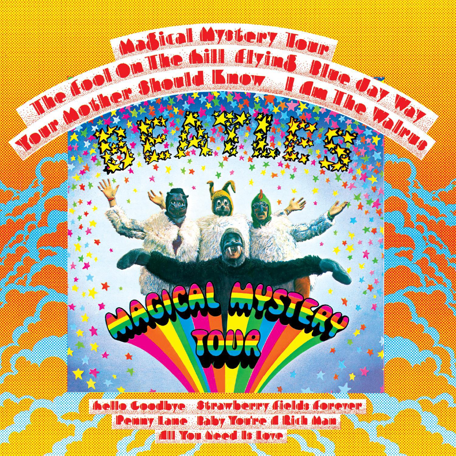 The Beatles – Magical Mystery Tour (REISSUE REMASTERED LP) (2017) [FLAC]
