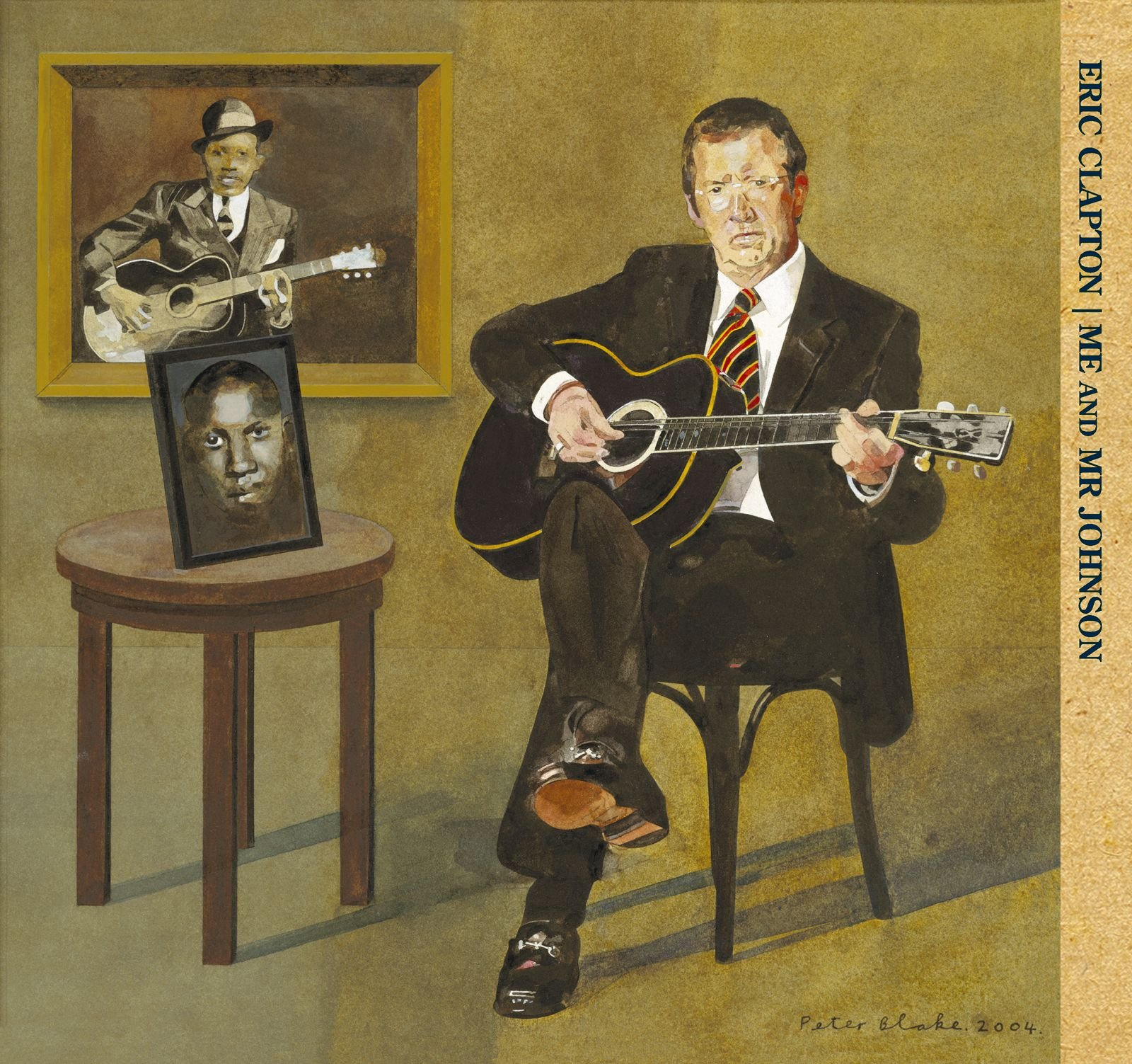Eric Clapton – Me And Mr Johnson (2004) [FLAC]