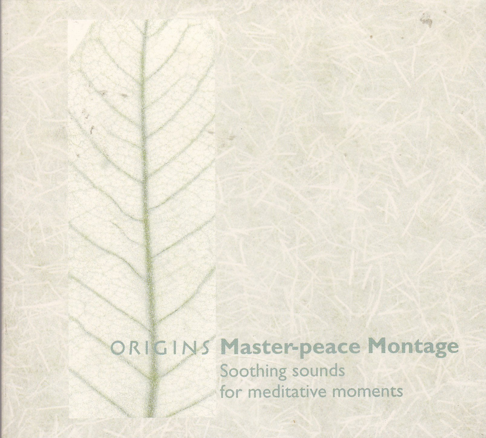 VA - Origins Master-Peace Montage Soothing Sounds For Meditative Moments (2001) [FLAC] Download