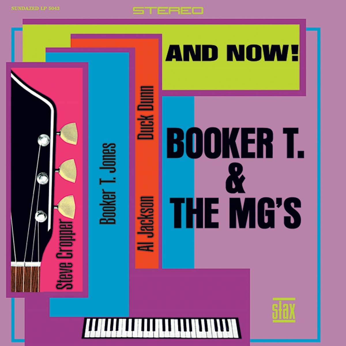 Booker T. & The MG's – And Now! (2013) [FLAC]