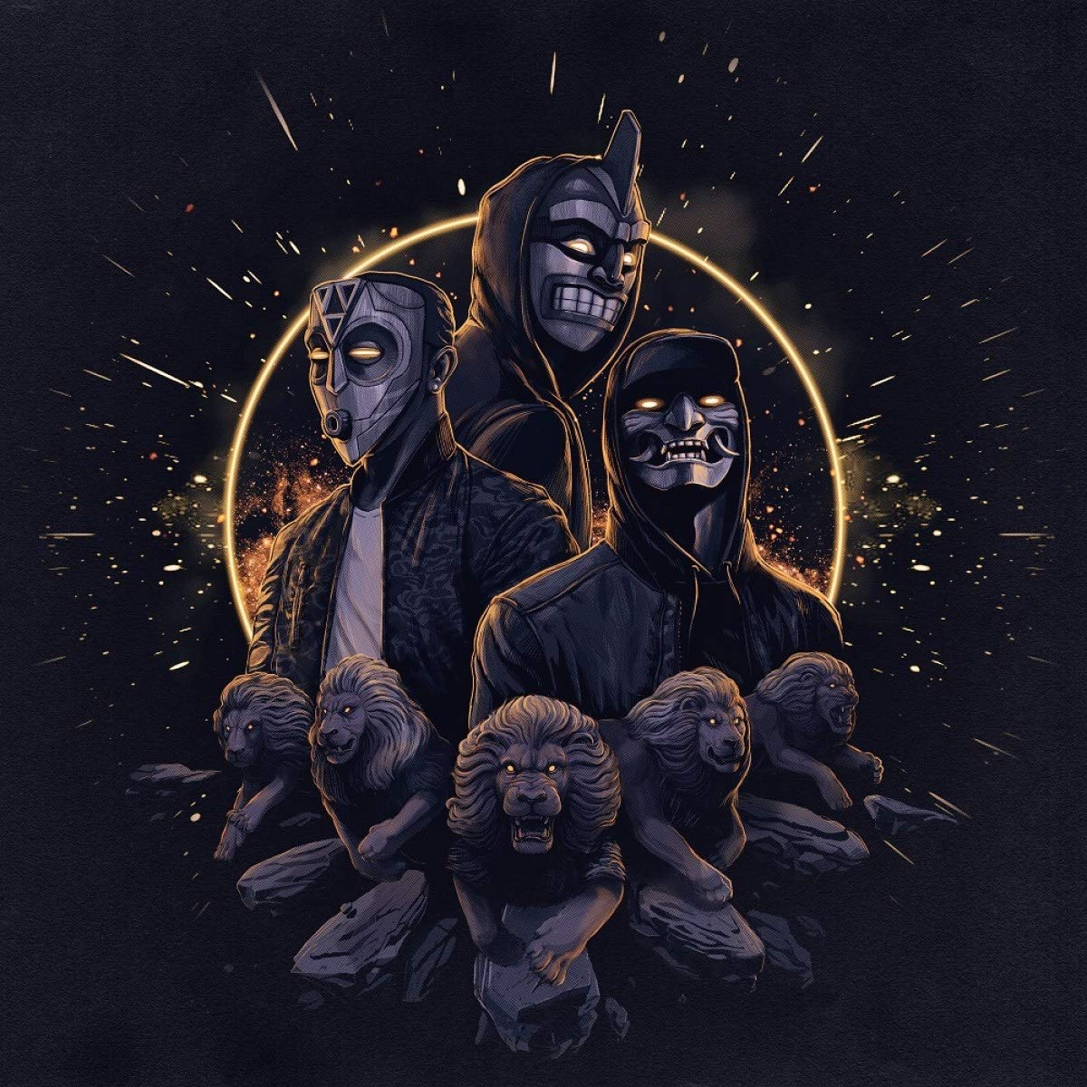 Jamo Gang-Walking With Lions-CD-FLAC-2020-THEVOiD