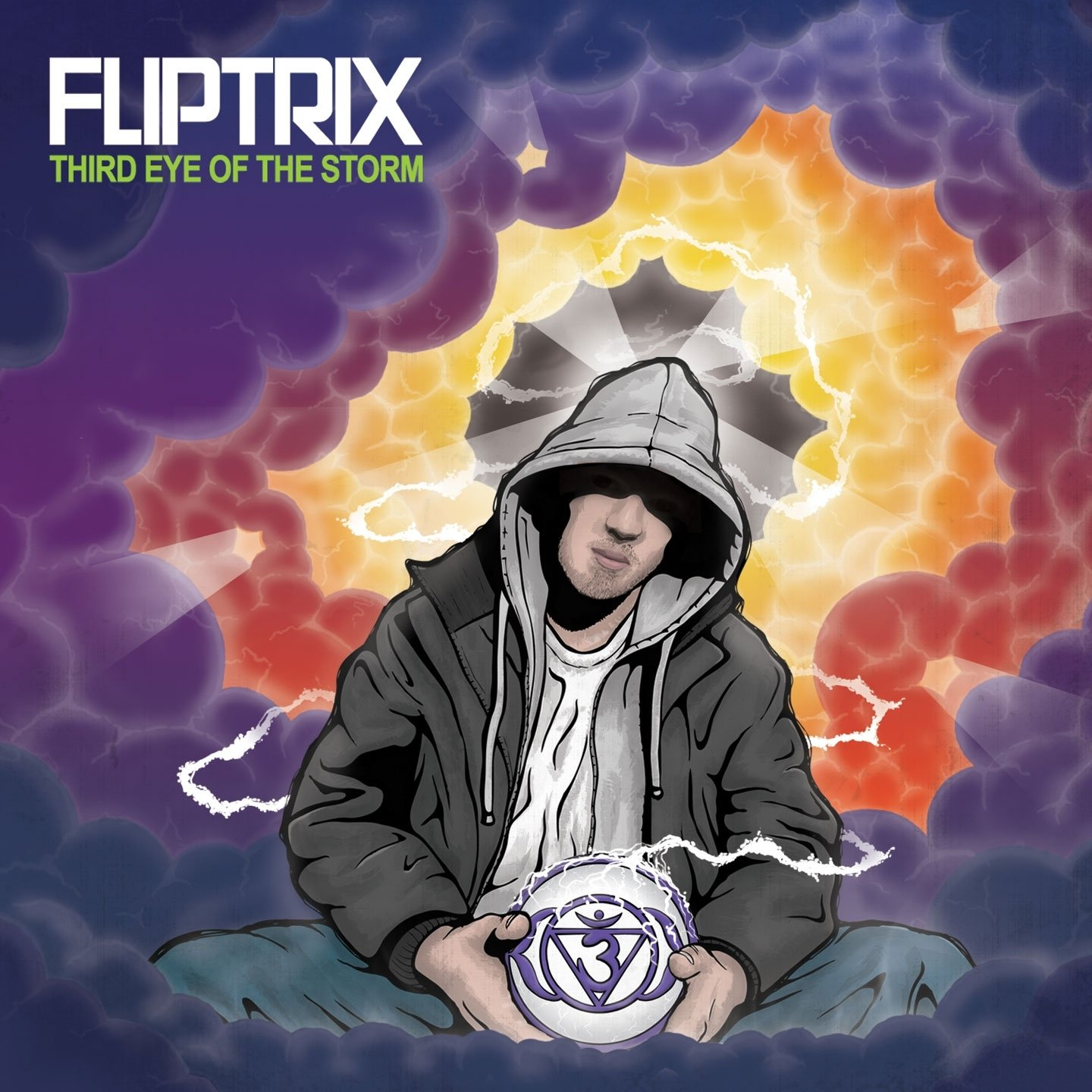 Fliptrix - Third Eye Of The Storm (2012) [FLAC] Download