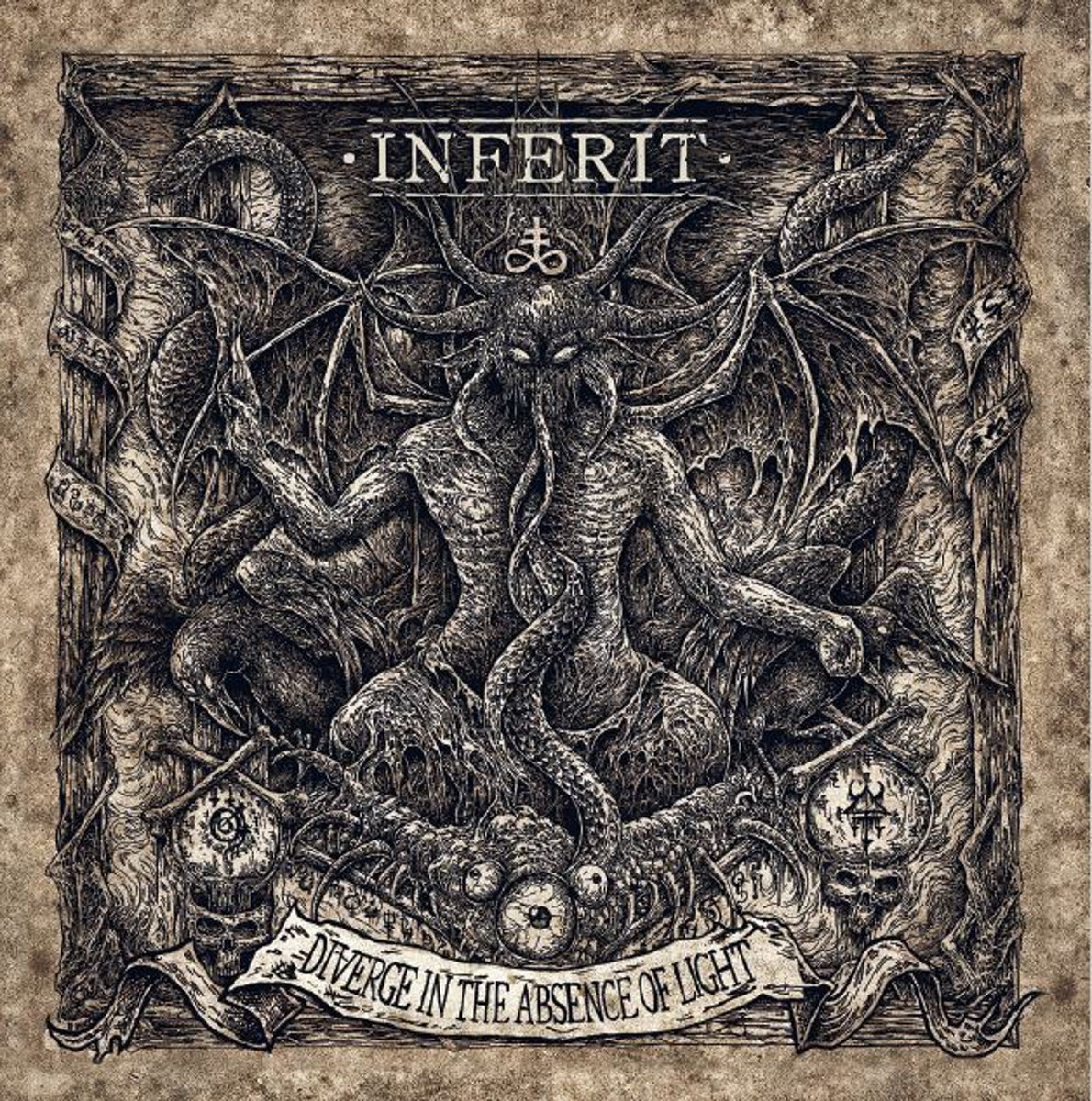 Inferit - Diverge in the Absence of Light (2020) [FLAC] Download