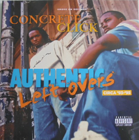 Concrete Click - Authentic Left Overs (2020) [FLAC] Download