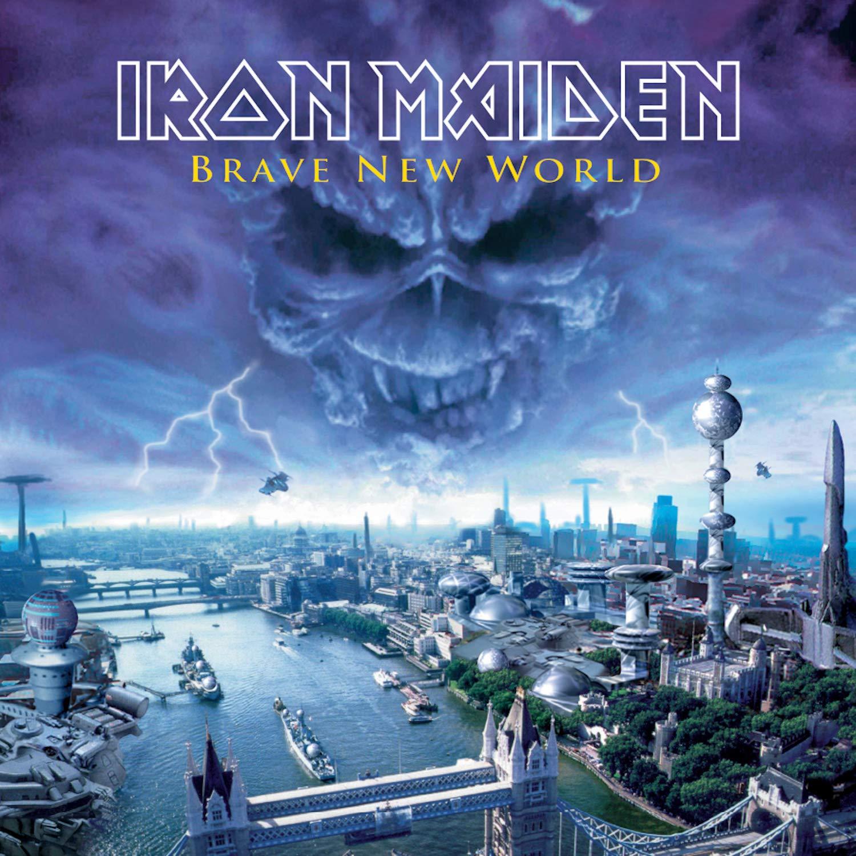 Iron Maiden – Brave New World (2017) [FLAC]