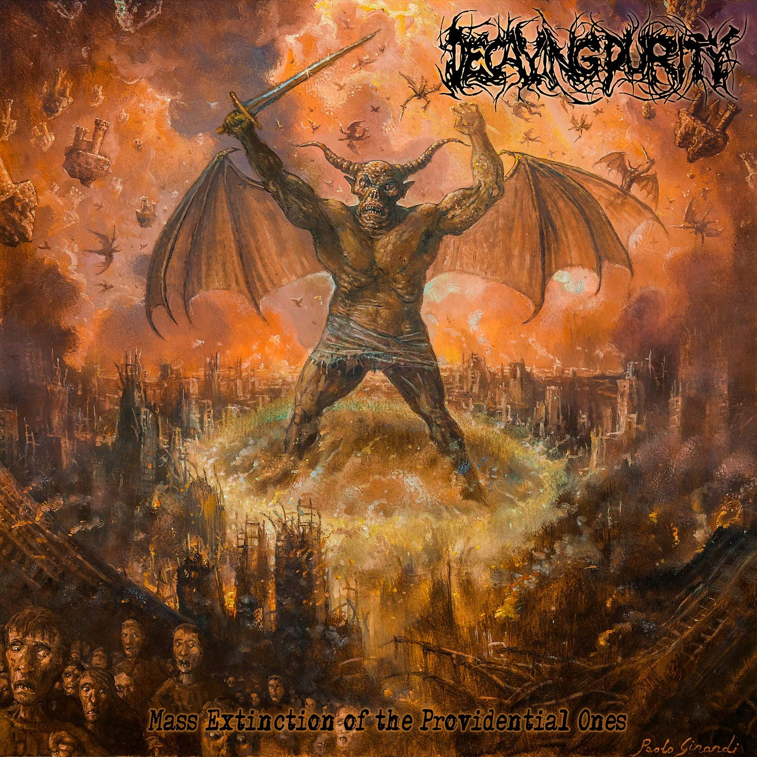 Decaying Purity - Mass Extinction of the Providential Ones (2020) [FLAC] Download