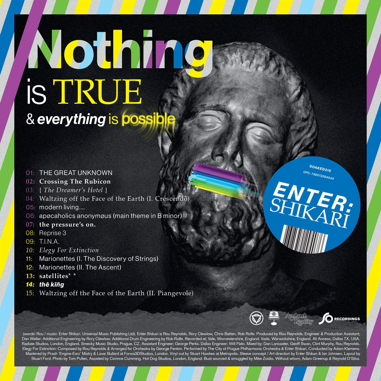 Enter Shikari - Nothing Is True & Everything Is Possible (2020) [FLAC] Download