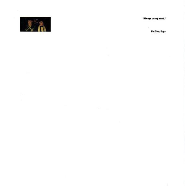 Pet Shop Boys - Always On My Mind (1987) [FLAC] Download
