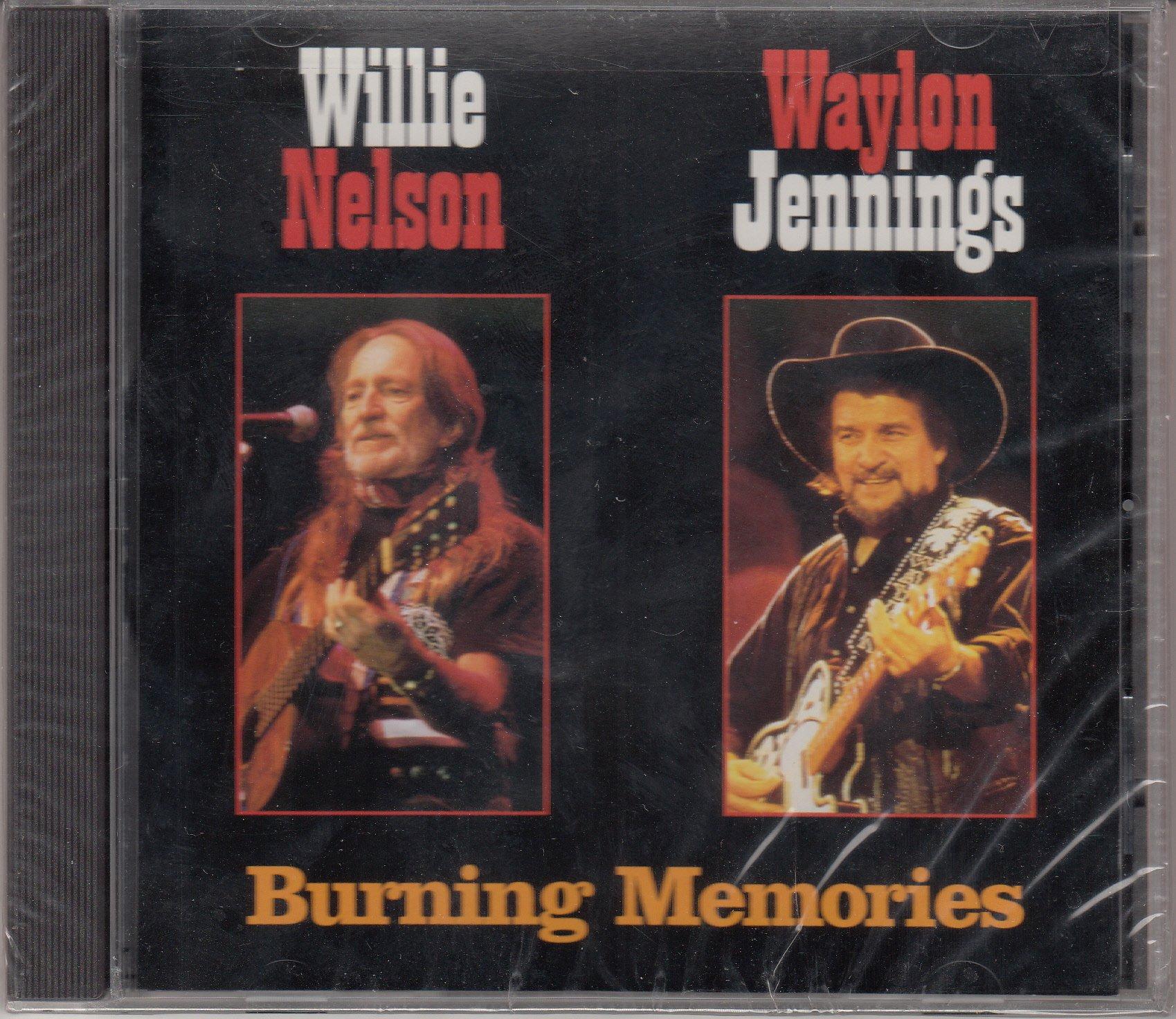 Waylon Jennings – Burning Memories (1997) [FLAC]