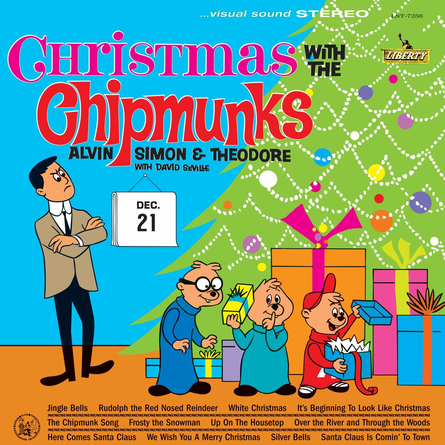The Chipmunks-Christmas With The Chipmunks-REISSUE-CD-FLAC-1994-FLACME