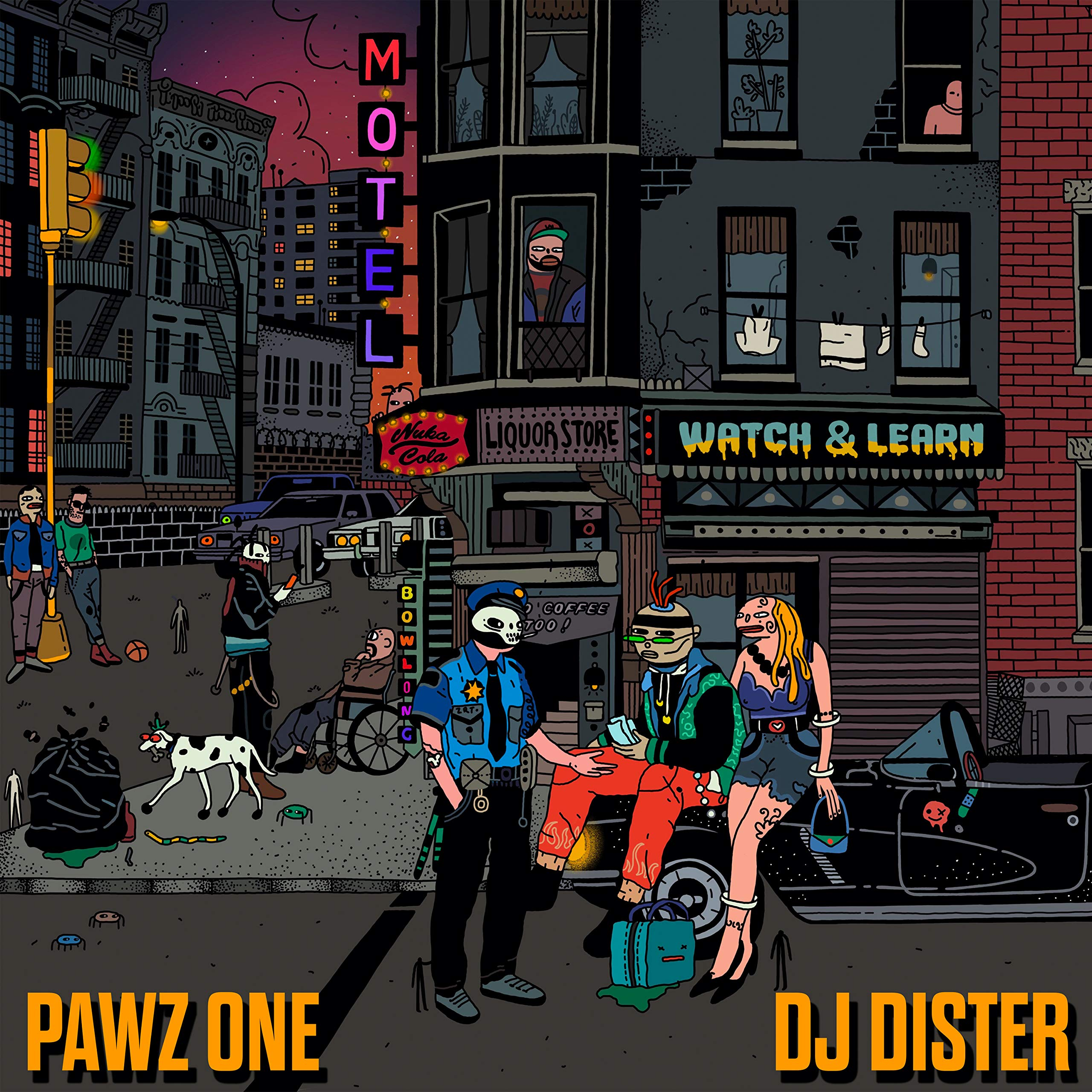 Pawz One & DJ Dister - Watch & Learn (2020) [FLAC] Download