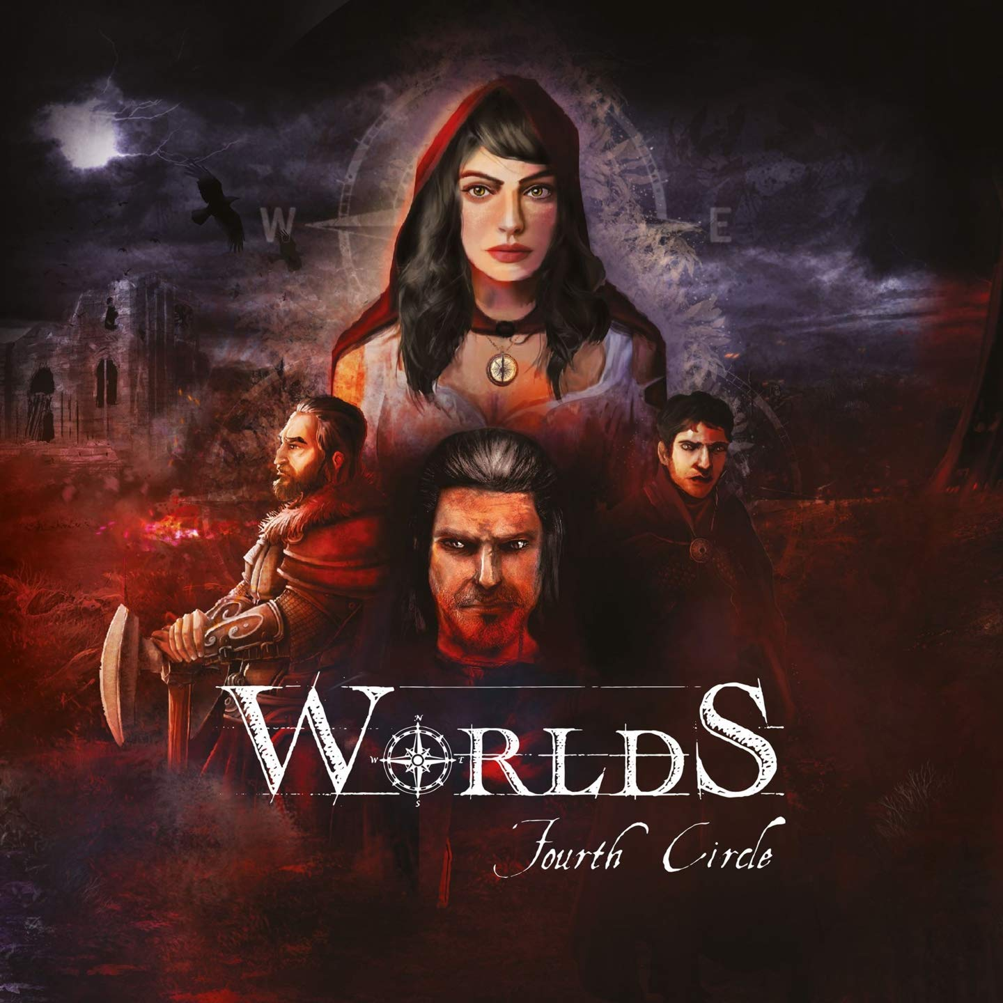 Fourth Circle - Worlds (2019) [FLAC] Download