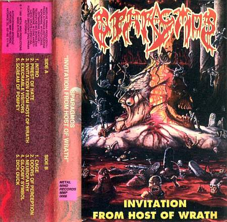 Sparagmos – Invitation from Host of Wrath / Mortal Organic Remains (2020) [FLAC]