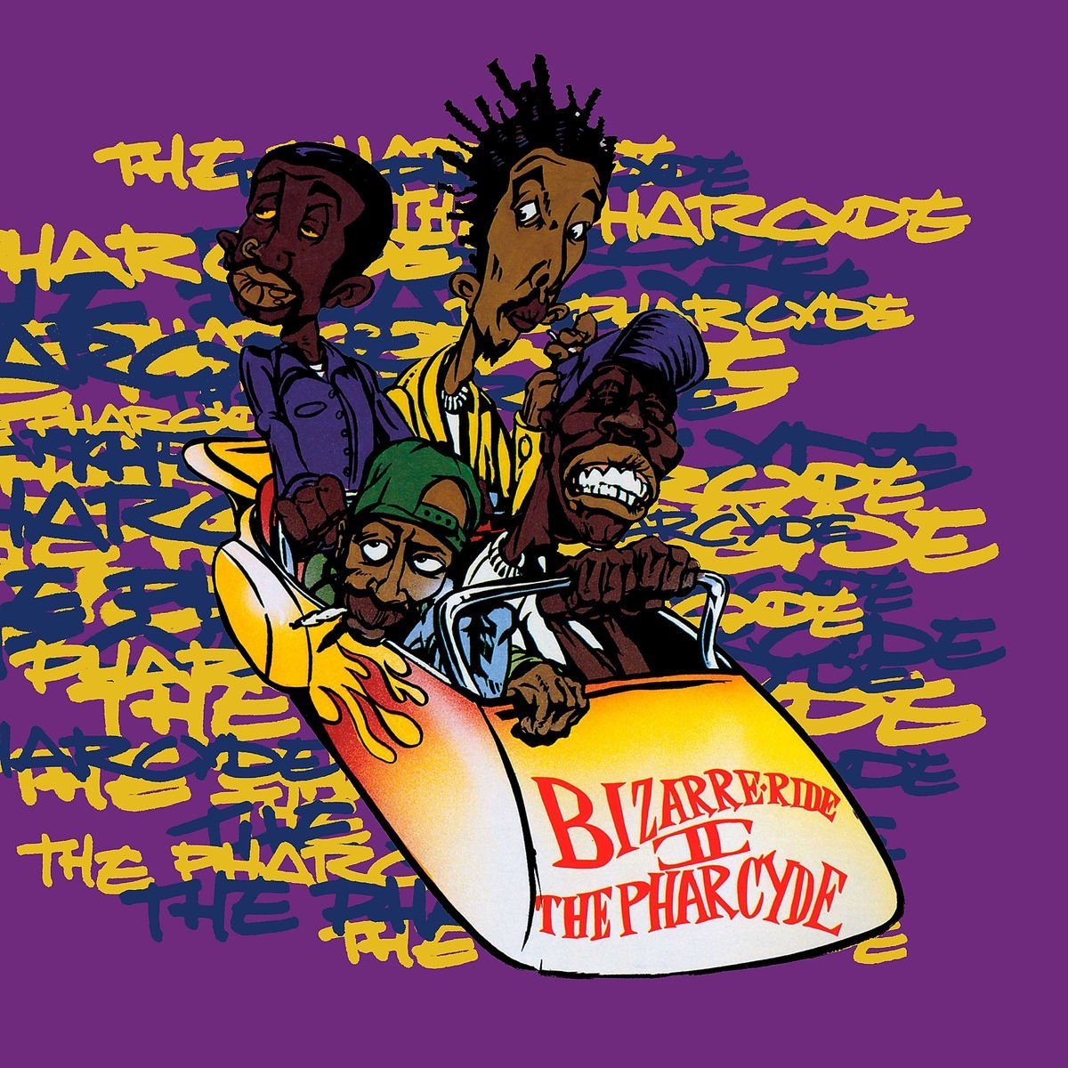 The Pharcyde - Bizarre Ride II The Pharcyde (2012) [FLAC] Download