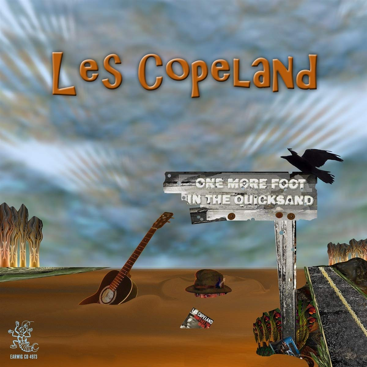 Les Copeland-One More Foot In The Quicksand-(EARWIG CD 4973)-CD-FLAC-2017-WRE