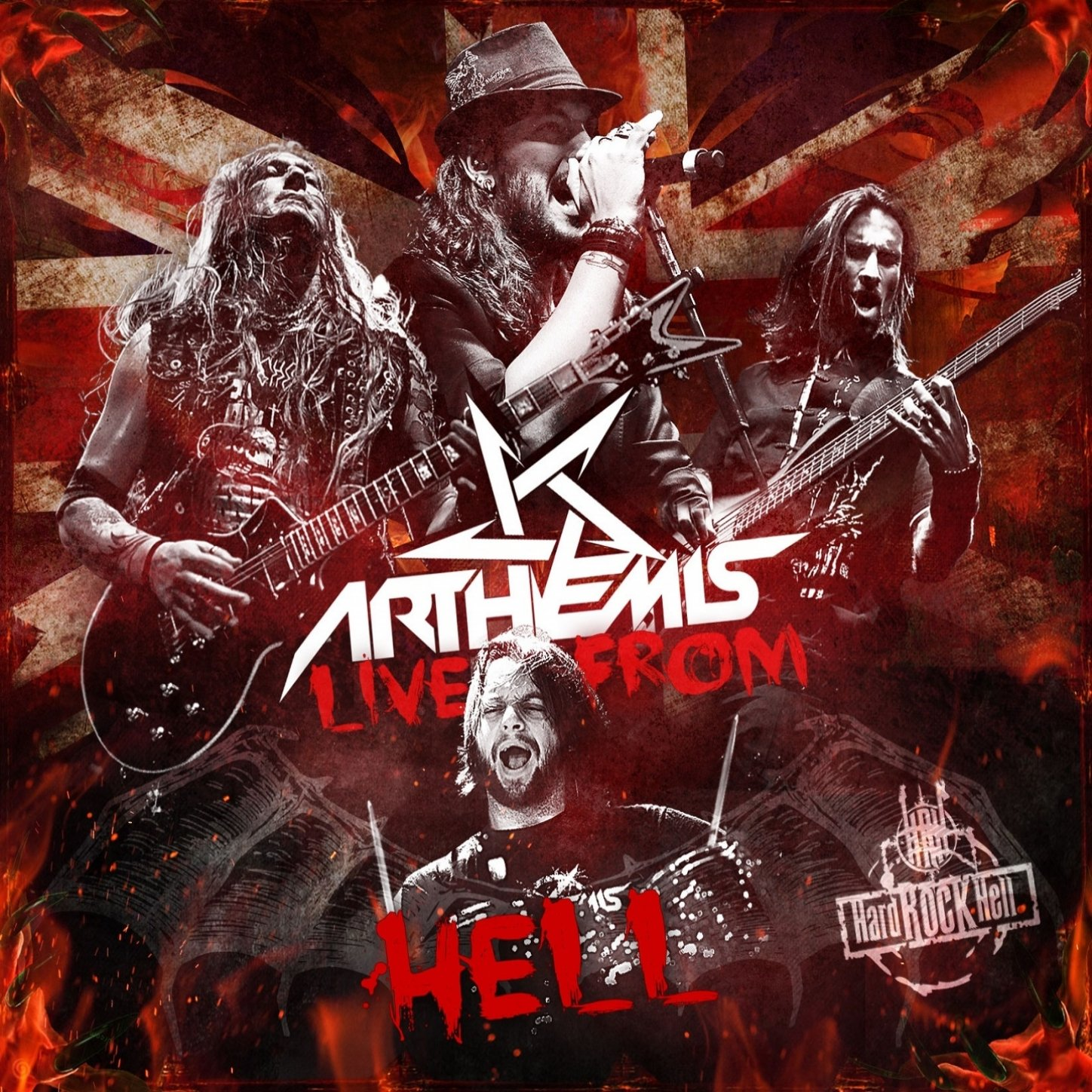 Arthemis - Live From Hell (2014) [FLAC] Download