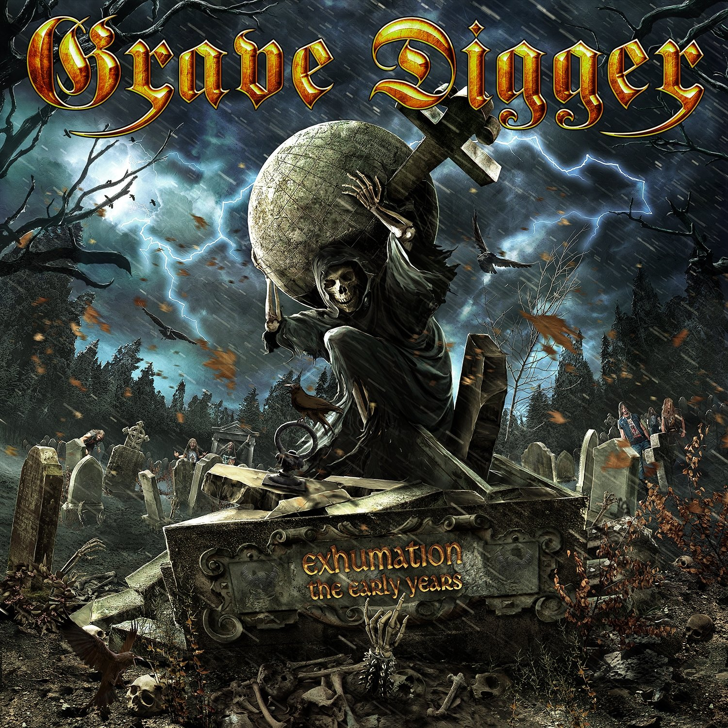 Grave Digger - Exhumation - The Early Years (2015) [FLAC] Download