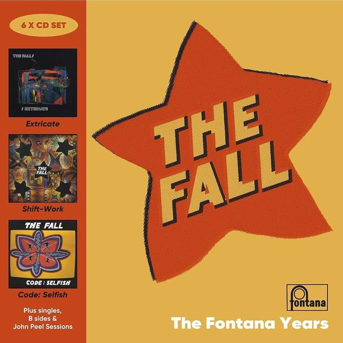The Fall - The Fontana Years (2017) [FLAC] Download