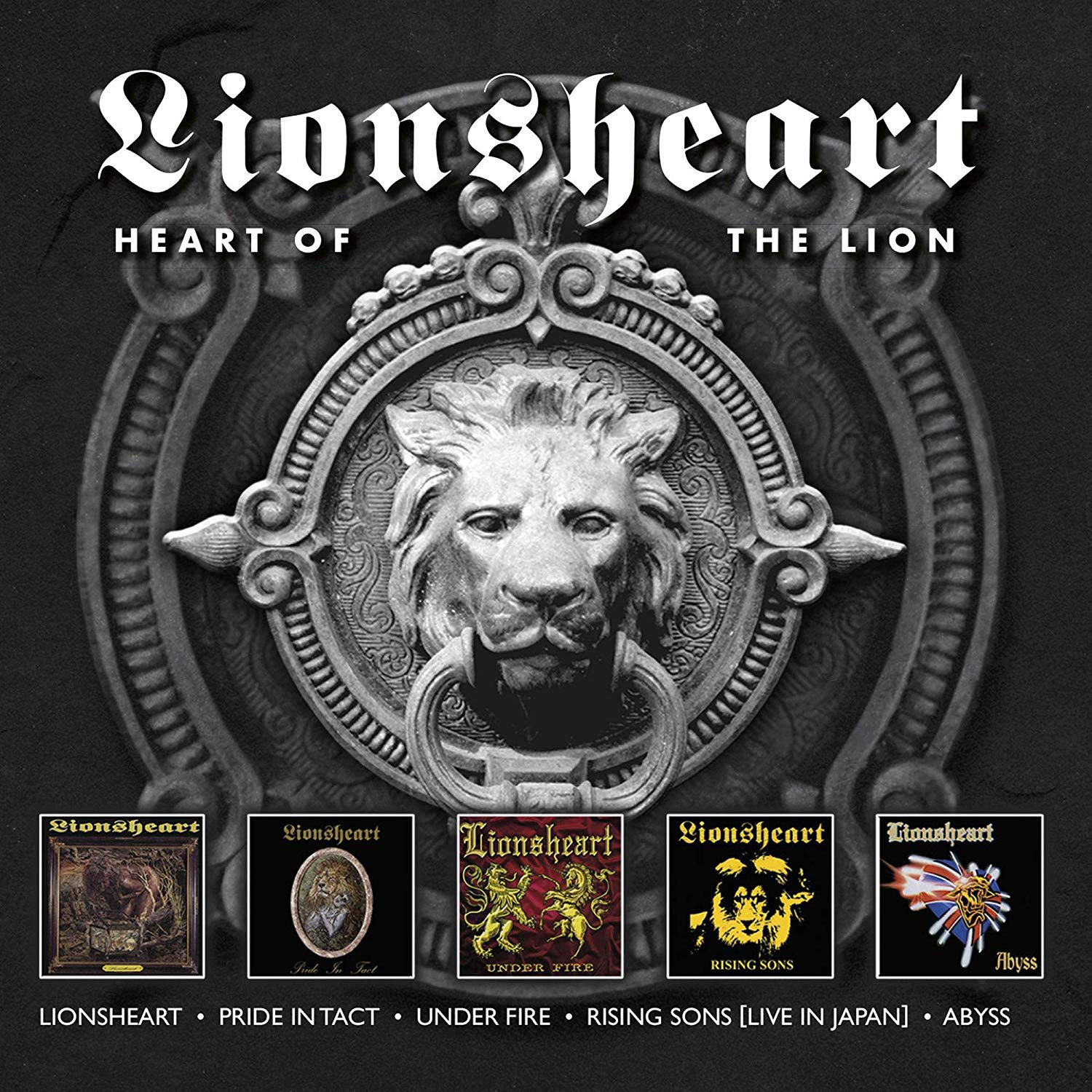Lionsheart - Heart Of The Lion (2019) [FLAC] Download