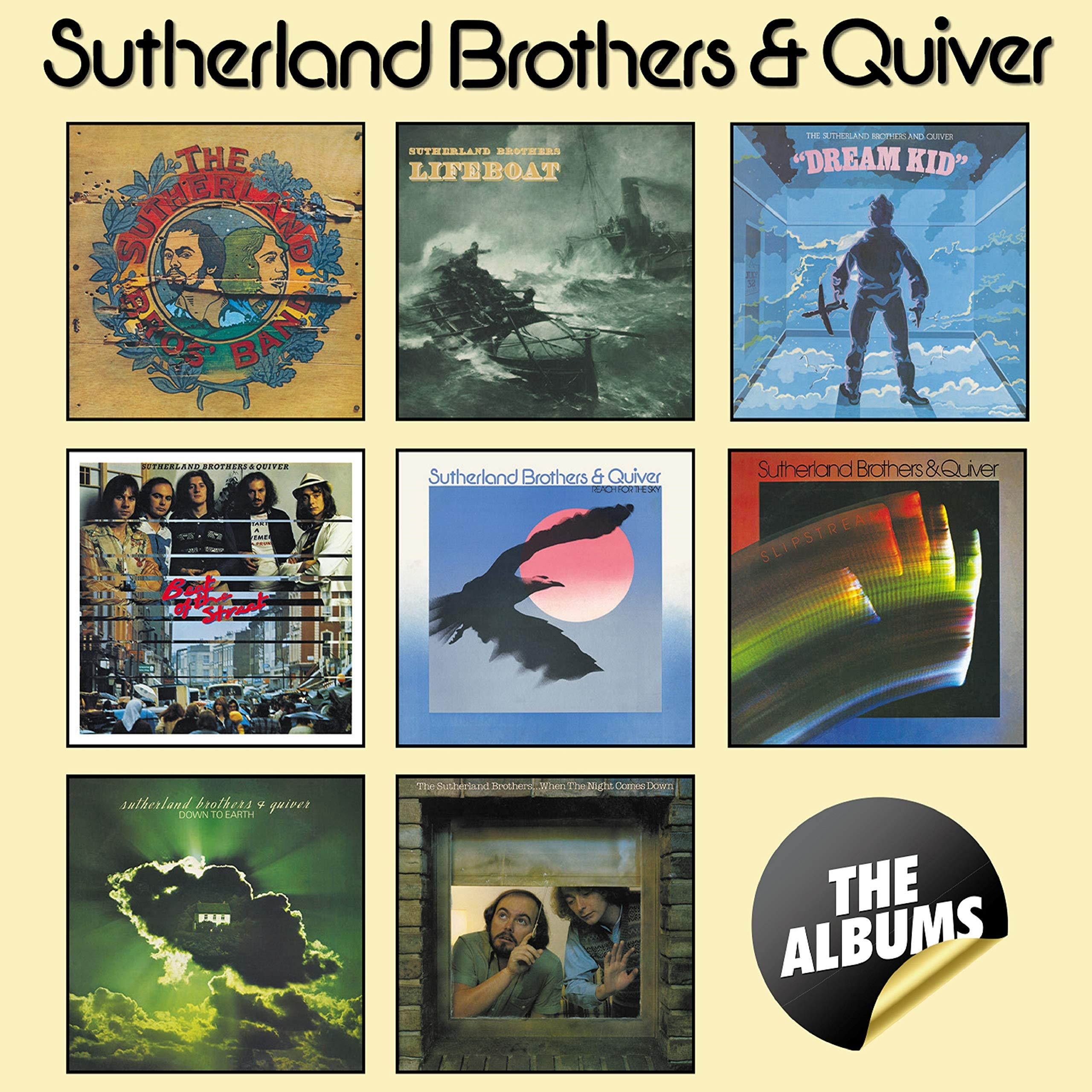 Sutherland Brothers & Quiver - The Albums (2019) [FLAC] Download