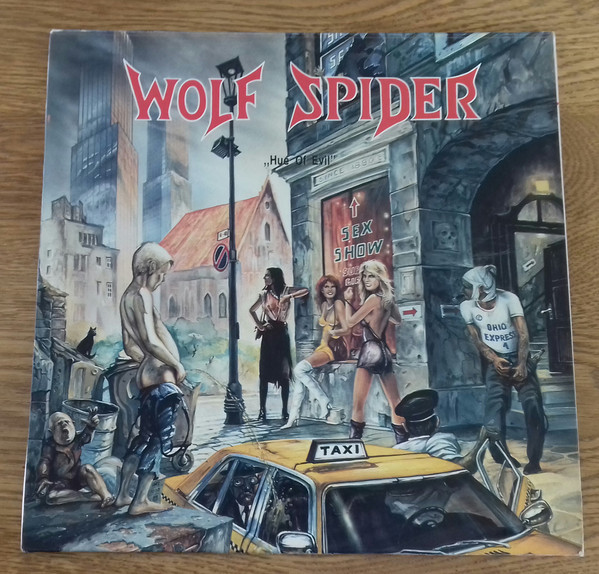Wolf Spider - Hue of Evil (2009) [FLAC] Download
