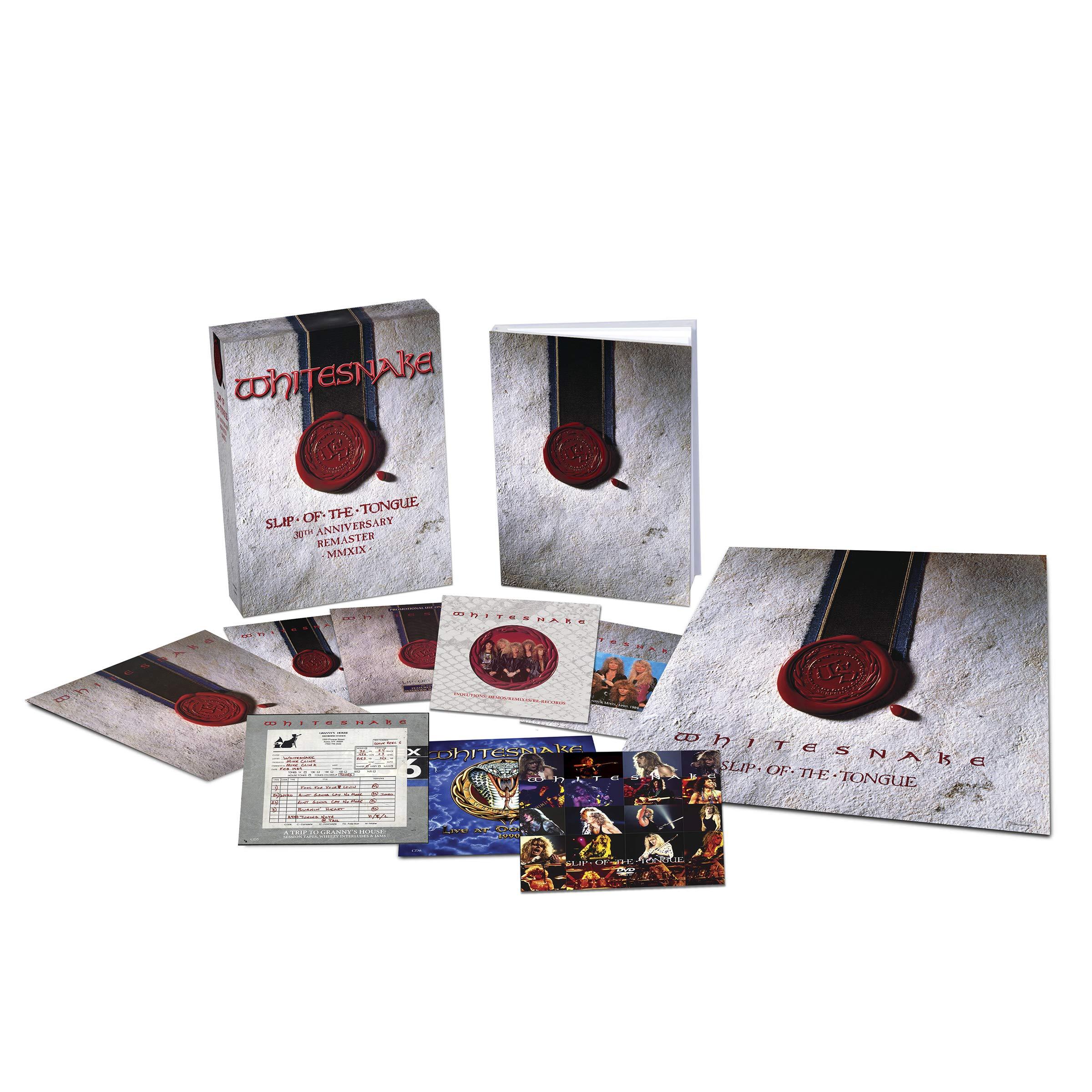 Whitesnake – Slip Of The Tongue  30th Anniversary Remaster MMXIX (2019) [FLAC]