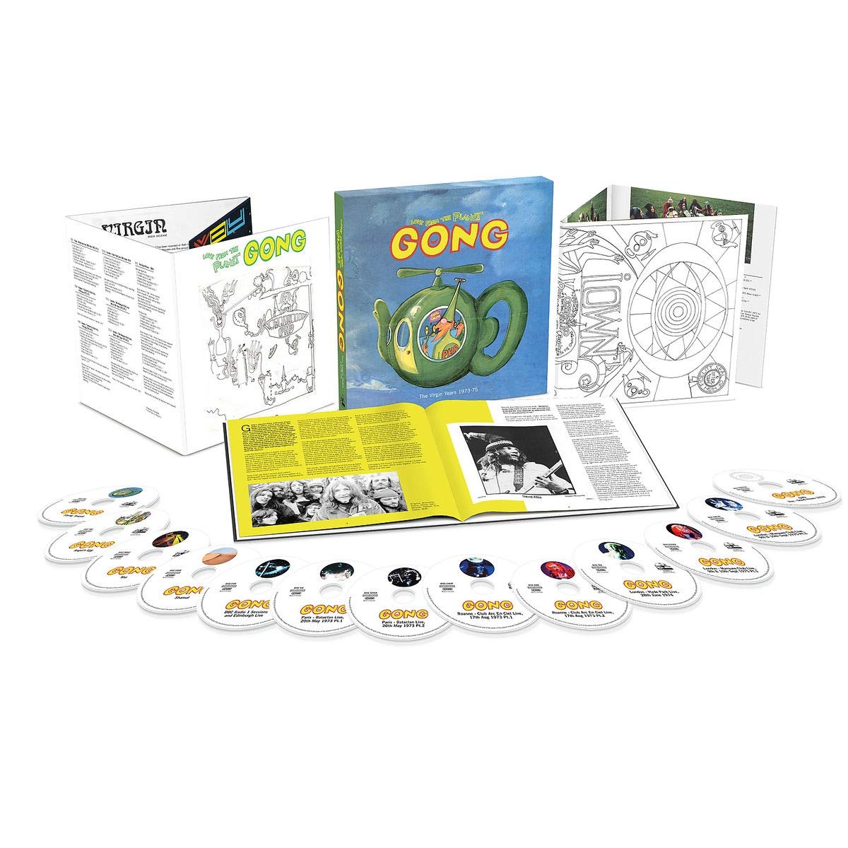 Gong-Love From The Planet Gong  The Virgin Years 1973-1975-(675 890-1)-REMASTERED BOXSET-12CD-FLAC-2019-WRE