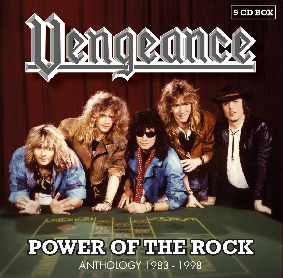 Vengeance – Power Of The Rock Anthology 1983-1998 (2019) [FLAC]