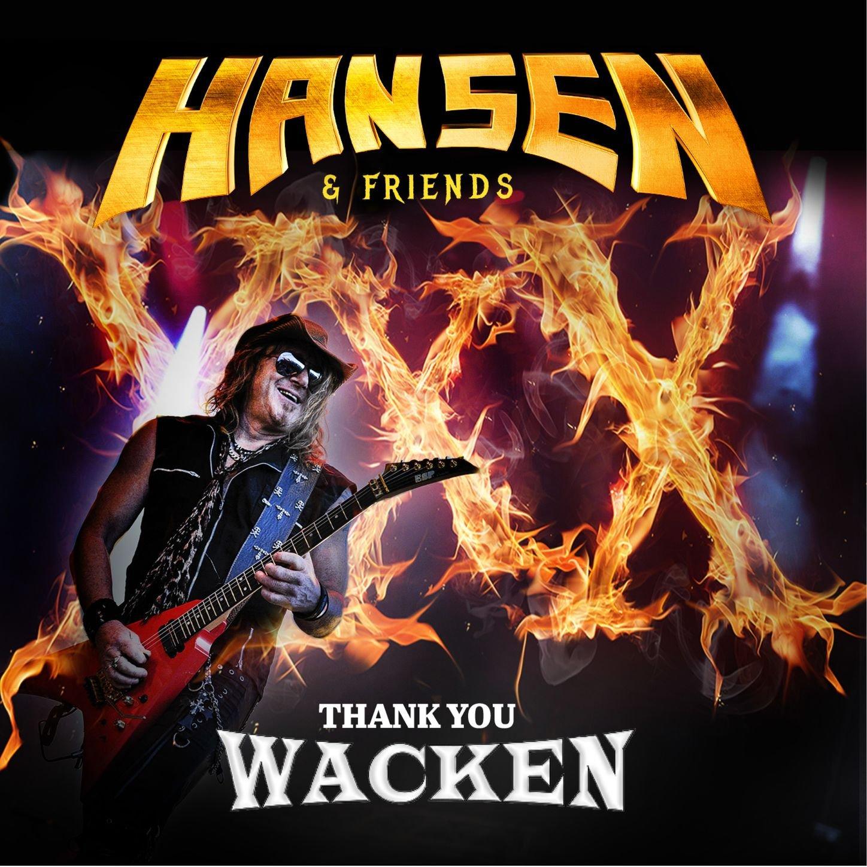 Hansen & Friends – Thank You Wacken Live (2017) [FLAC]