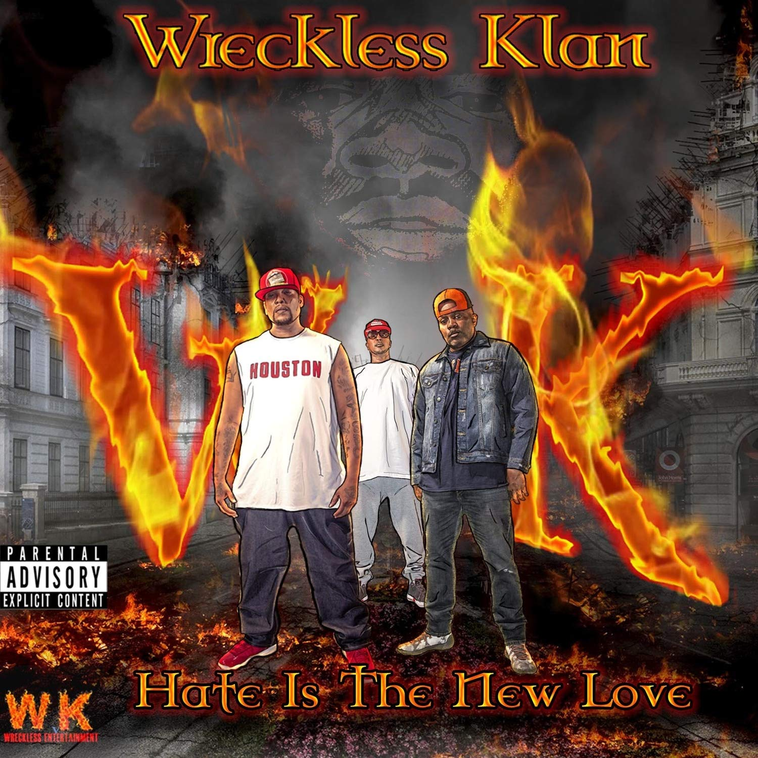 Wreckless Klan - Hate Is The New Love (2020) [FLAC] Download