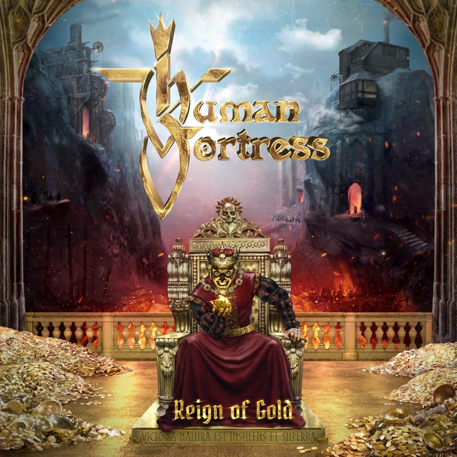 Human Fortress-Reign Of Gold-(AFM 645-2)-CD-FLAC-2019-WRE