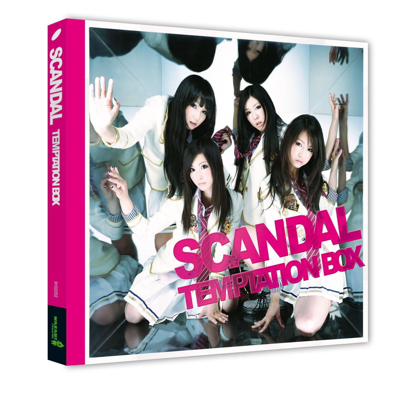 SCANDAL - TEMPTATION BOX (2010) [FLAC] Download