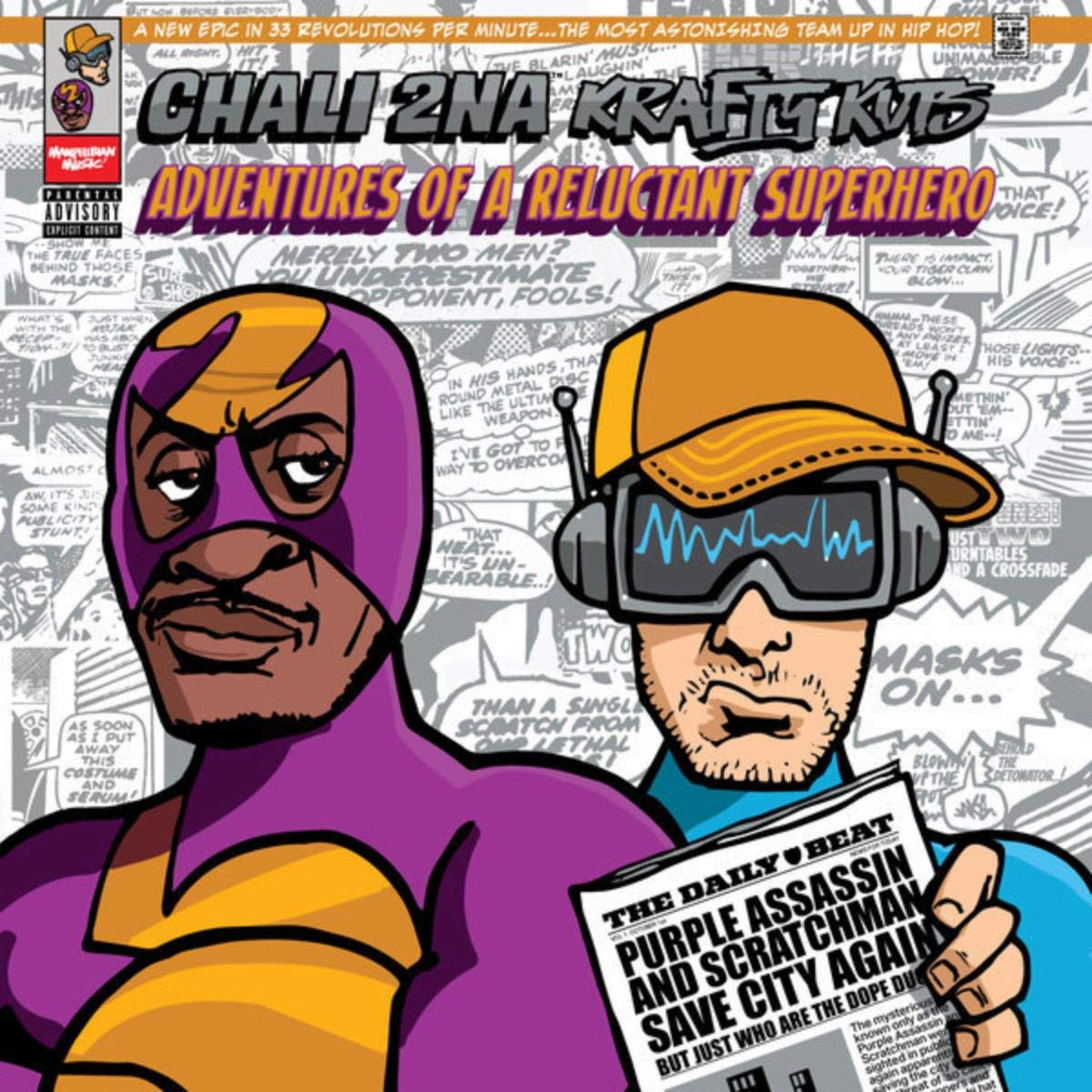 Chali 2NA & Krafty Kuts – Adventures Of A Reluctant Superhero (2019) [FLAC]