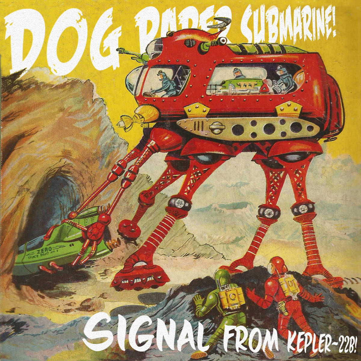 Dog, Paper, Submarine – Signal From Kepler-22b (2015) [FLAC]