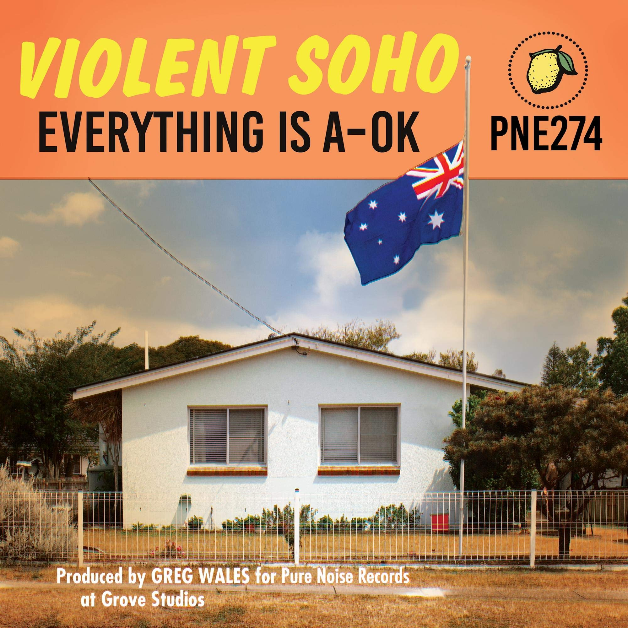 Violent Soho - Everything Is A-OK (2020) [FLAC] Download