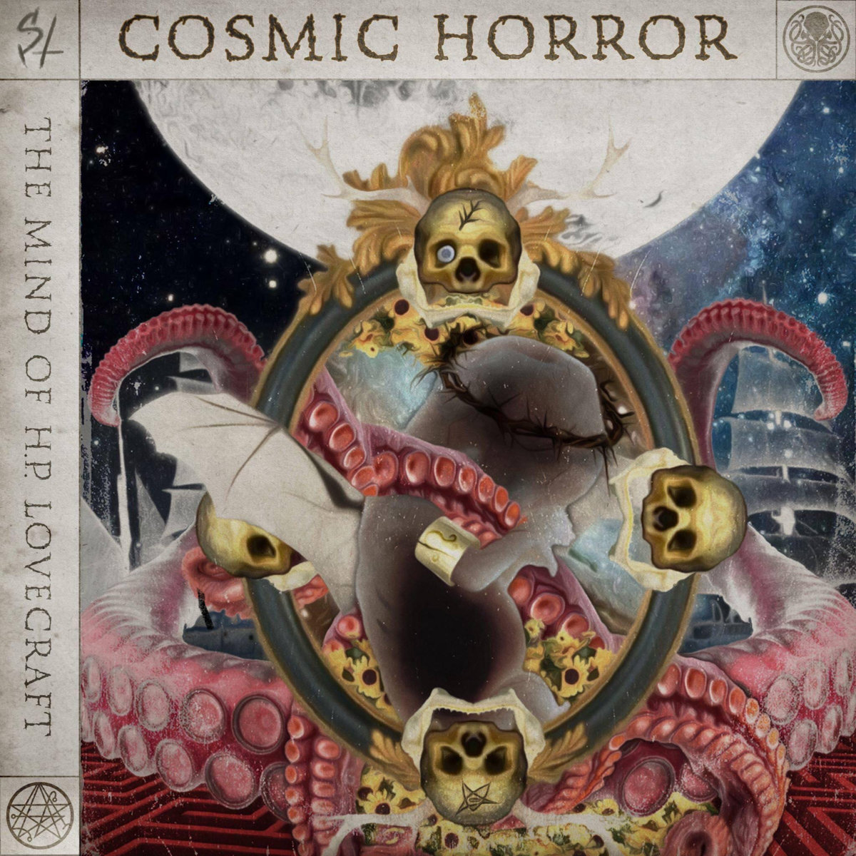 Synthspiria – COSMIC HORROR-The Mind of H.P. Lovecraft WEB (2020) [FLAC]