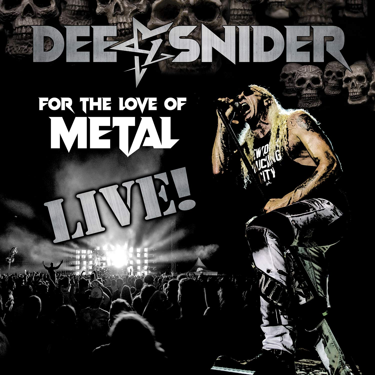 Dee Snider – For The Love Of Metal Live! (2020) [FLAC]