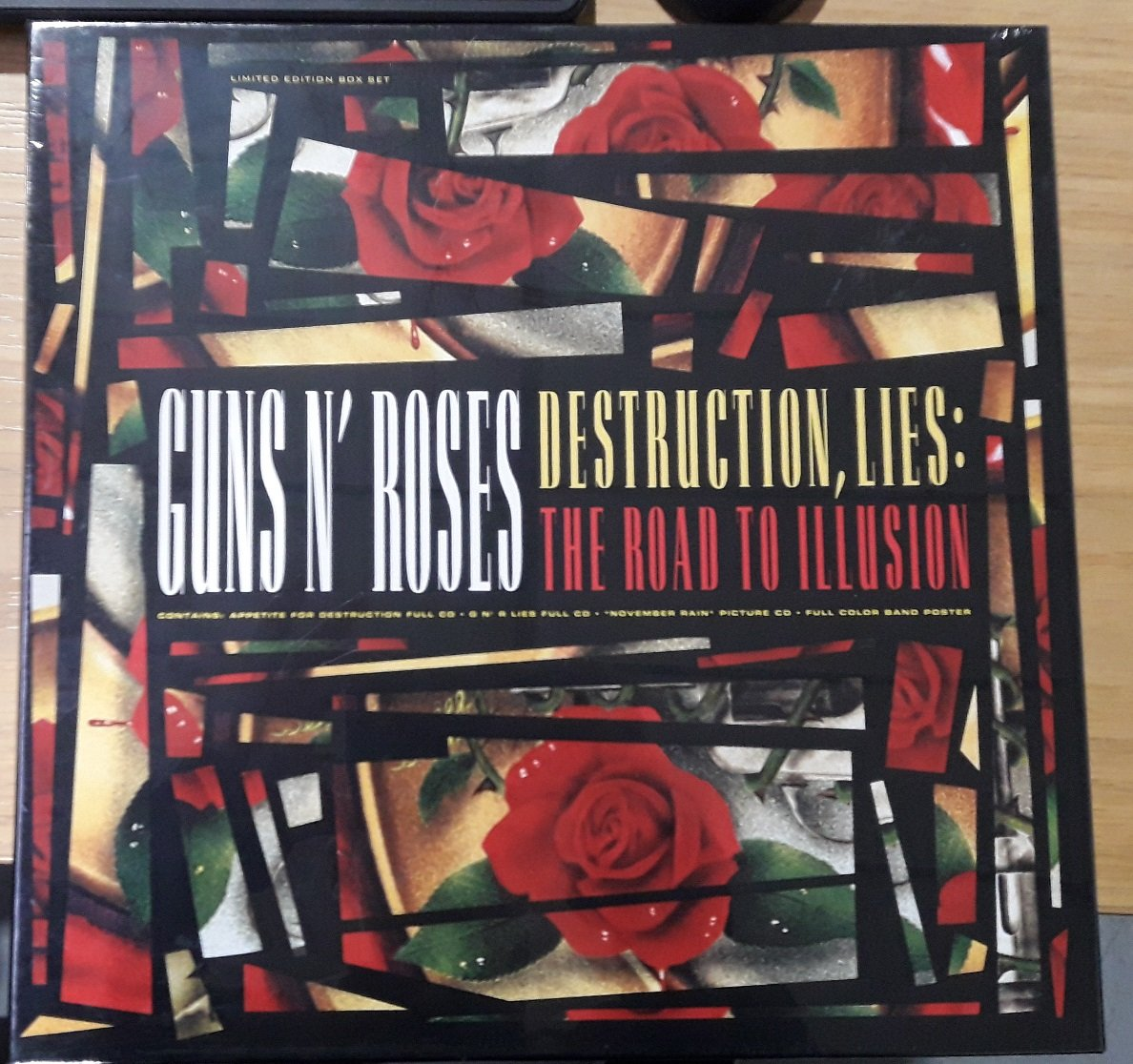 Guns N Roses-Destruction Lies The Road To Illusion-(GEFD-24434)-Limited Edition Boxset-2CD-FLAC-1992-RUiL
