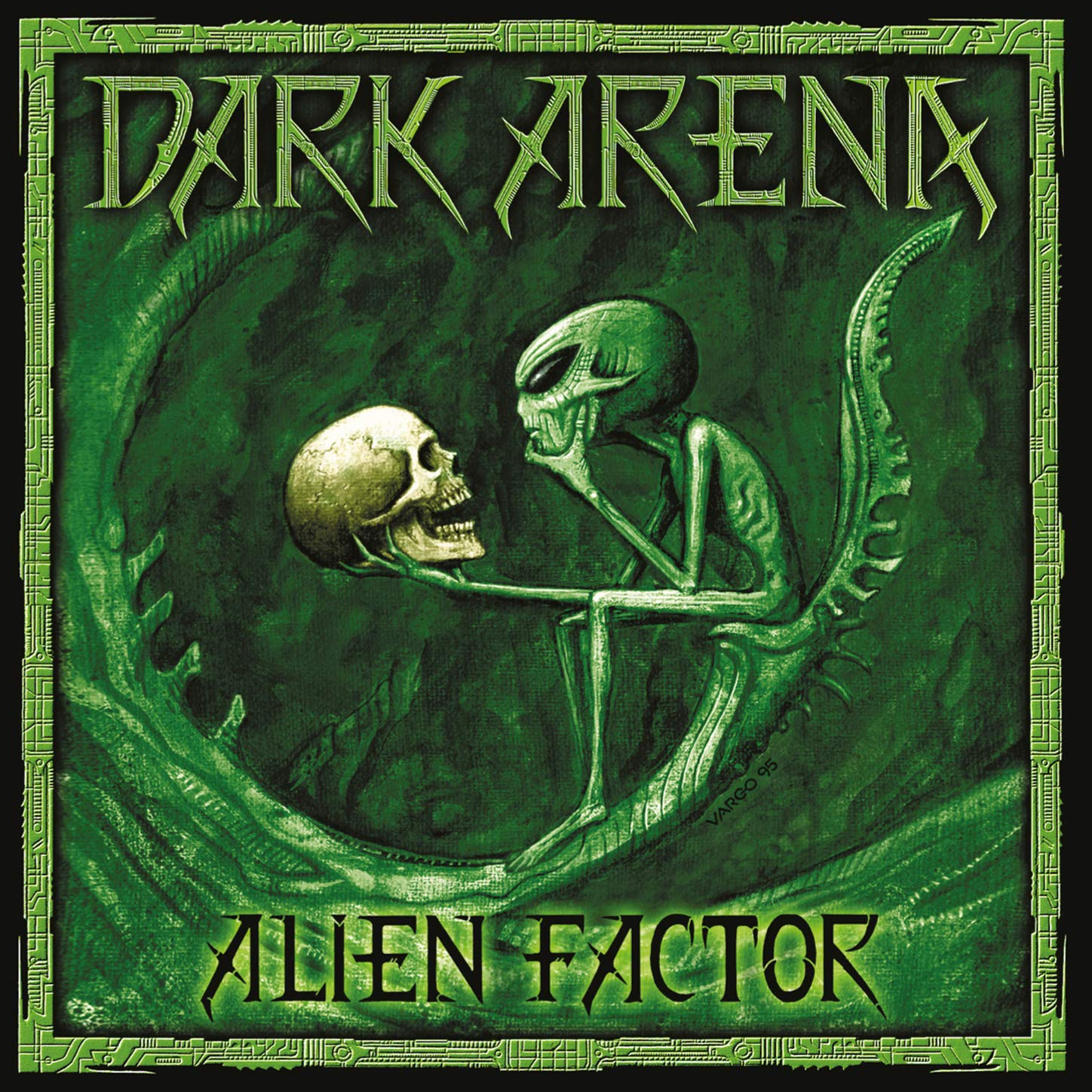 Dark Arena - Alien Factor (2020) [FLAC] Download