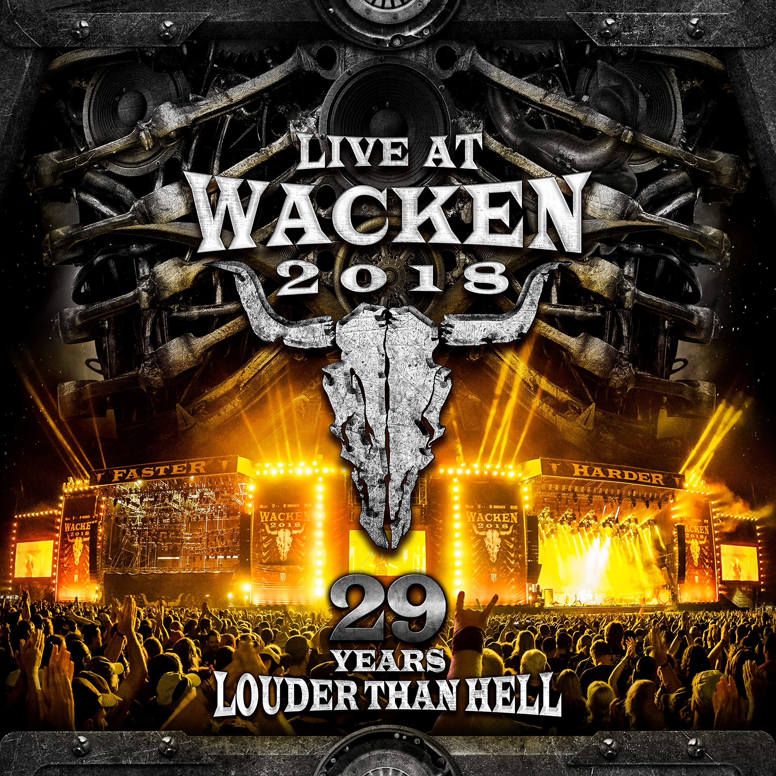 VA - Live At Wacken 2018 29 Years Louder Than Hell (2019) [FLAC] Download
